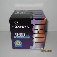 """Brand New 25 Pack Imation 2HD 3.5"""" IBM Formatted Floppy Disks 1.44 MB Diskettes"""