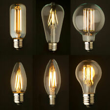 Vintage industrial Filament LED Light Bulb Lamp Squirrel Cage Edison 4/6W