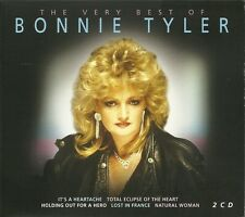 THE VERY BEST OF BONNIE TYLER 2 CD BOX SET - IT'S A HEARTACHE & MORE