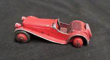 Vintage Dinky Toy Sporty Jaguar Red Missing Back Rubber Tires England