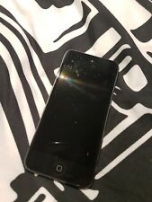 Apple iPod Touch 5th Generation 32GB Black Home button is stuck Fully working