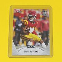 2021 Leaf Draft Football Tyler Vaughns ROOKIE USC Trojans #25 RC 🔥