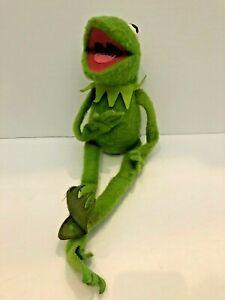 Vintage Kermit The Frog #850 Jim Henson Muppet Doll Fisher Price Plush Toy 1976