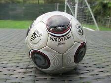 """Adidas Euro 2008 Europass """"Gloria"""" oficial final Mini bola de tamaño 1 Fútbol Rara"""