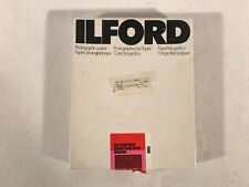 ILFORD 8X10 Glossy Sheet Photo Paper MG1M Ilfospeed Multigrade