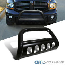 "For 06-08 Dodge Ram 1500 Pickup 3"" Black Bull Bar Grill Push Guard Front Bumper"