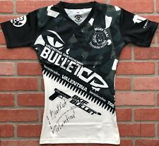 Valentina Shevchenko autographed signed inscribed shirt UFC Bullet PSA COA