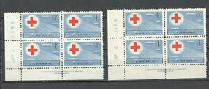 Canada , No: 317 PB ,LL Plate 1 & 2, MNH, Red Cross Conference.........AT22-0019