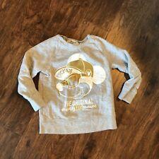 H&M Disney Boys Long Sleeve MICKEY MOUSE Sweat Shirt 4-6Y (H)