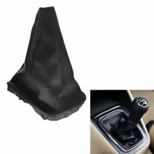 BLACK LEATHER GEAR STICK KNOB for OPEL VAUXHALL ASTRA CORSA ZAFIRA COVER GAITER