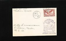 Canada Air Mail 1st Flight Machin - Kenora 1936 Cover 4q