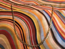 9ct Gold Flat Link Curb Chain 20''