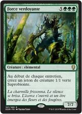 MTG Magic DOM FOIL - Verdant Force/Force verdoyante, French/VF