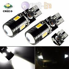 Xenon White CAN-bus Error Free T10 2825 W5W CREE LED Parking Eyelid Light Bulbs