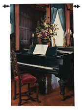 Biltmore Music Room ~ Grand Piano Tapestry Wall Hanging