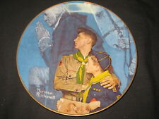 Our Heritage, Norman Rockwell Boy Scout Ceramic Plate