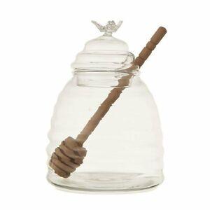 Bloomingville Honigtopf Glas