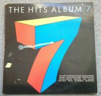 VARIOUS - The Hits Album 7 Vinyl LP (HITS 7) Electronic Hip Hop Rock Funk Soul