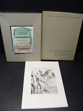 Johannes Grützke Die Manuskripte von Belo Horizonte + Radierung signiert