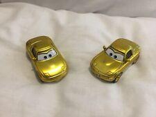 Disney Pixar Cars GOLD TIA & MIA 1:55 MATTEL BUNDLE Diecast TOKYO DRIFT MATER XX