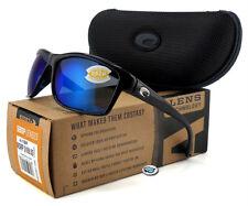 NEW Costa Del Mar MAG BAY 580P Polarized Sunglasses   Black / Blue Mirror Lens