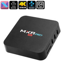MXR Pro TV Box Supporto 4K CPU Quad-Core RAM 4GB Android 7.1 Google Play WiFi