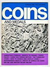 COINS & MEDALS - 56 Page Magazine January 1968 Good Reference