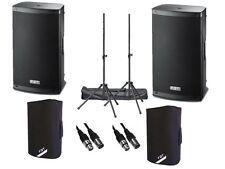 "2 x FBT Xlite 10A Active 2000W 10"" Powered Speaker DJ Disco PA Sound System"