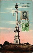 CPA spain Huelva-la rábida Cristobal colon monument has (281918)