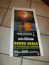 A.KUROSAWA,DERSU UZALA,PREMIO OSCAR 1976,locandina