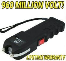 VIPERTEK VTS-989 960 MV Rechargeable LED Police Stun Gun + Taser Case