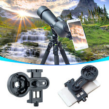 Universal Telescope Camera Interface Bracket Kit Cell Phone Mount Holder Adapter