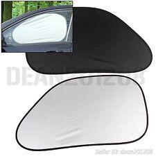 2 pcs UV windshield Car Sun Shade auto block rear window visor Sunshade 64 x 38