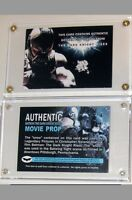 Batman The Dark Knight Rises Card Screen Used Movie Prop ~ Gotham City Snow