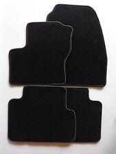 Alfombras coche/tapices para Ford C-Max a partir del año 2010-terciopelo negro