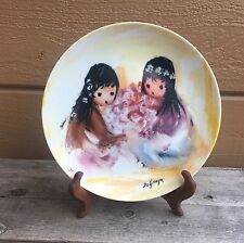 "Ted De Grazia ""Spring Blossoms"" Collector's Plate"