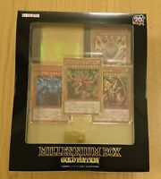 Yu-Gi-Oh OCG Duel Monsters 20th MILLENNIUM BOX GOLD EDITION New from Japan