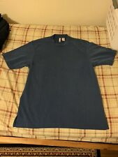 Men's Axis T-Shirt Size Medium Blue 65% Modal Rayon 35% Polyester
