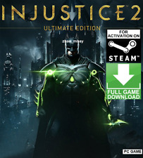 Injustice 2 Ultimate Edition STEAM GAME GLOBAL (NO CD/DVD) FAST SENT!