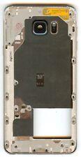 OEM Samsung Note 5 (n920v) Verizon Back Frame Blue Camera Lens Gray Housing Mint