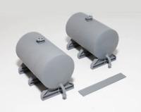 Knightwing PM142 OO Gauge 72mm Storage Tank (Pair) Plastic Kit