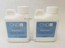4oz CREATIVE CND RETENTION+ Nail Liquid Monomer ACRYLIC NAILS superior adhesion