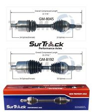 Olds Silhouette Chevy Venture 2002-2004 AWD 2 Front CV Axle Shafts SurTrack Set