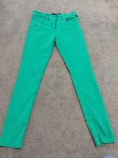 ROBELL JEANS Green soft skinny jeans - Size 16 Regular
