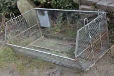 Strawberry Planter Basket Galvanised Metal 1 m - Yorkshire Dales Reclaim