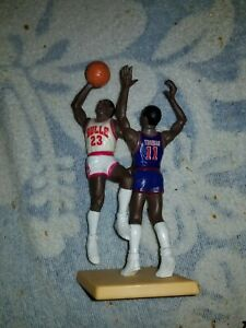 1989 Starting Lineup One on One Michael Jordan VS. Isiah Thomas RARE