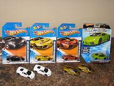 Hot Wheels Lot of 8 Lamborghini Reventon Variation Speed Machines Italian V-12
