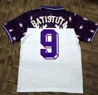 Fiorentina #9 1992 BATISTUTA FOOTBALL SOCCER SHIRT HOME JERSEY WORLD CUP Cwu9