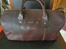 NIXON HORWEEN LEATHER  DUFFEL BAG SURF LINE