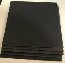 10x Black Fiber liner, Knife making Supplies,-Knife Handle Making Liners